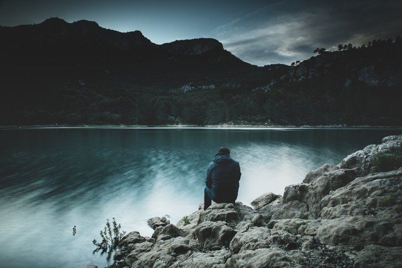 Finding peace and quiet in solitude